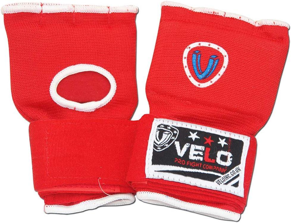 boxeo muay tailand/és VELO guantes de gel de protecci/ón profesional para hombres y mujeres Guantes interiores de boxeo para entrenamiento de artes marciales mixtas protector de pu/ños