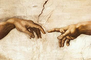 Image result for michelangelo creation of Adam