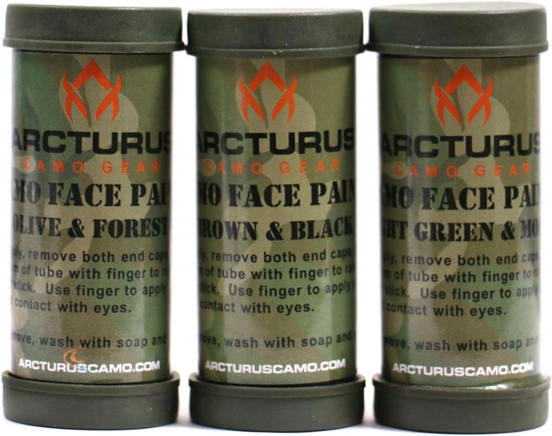 Arcturus Camo Face Paint Sticks
