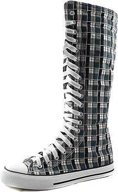 Mid Calf Knee High Woman Boots Tall