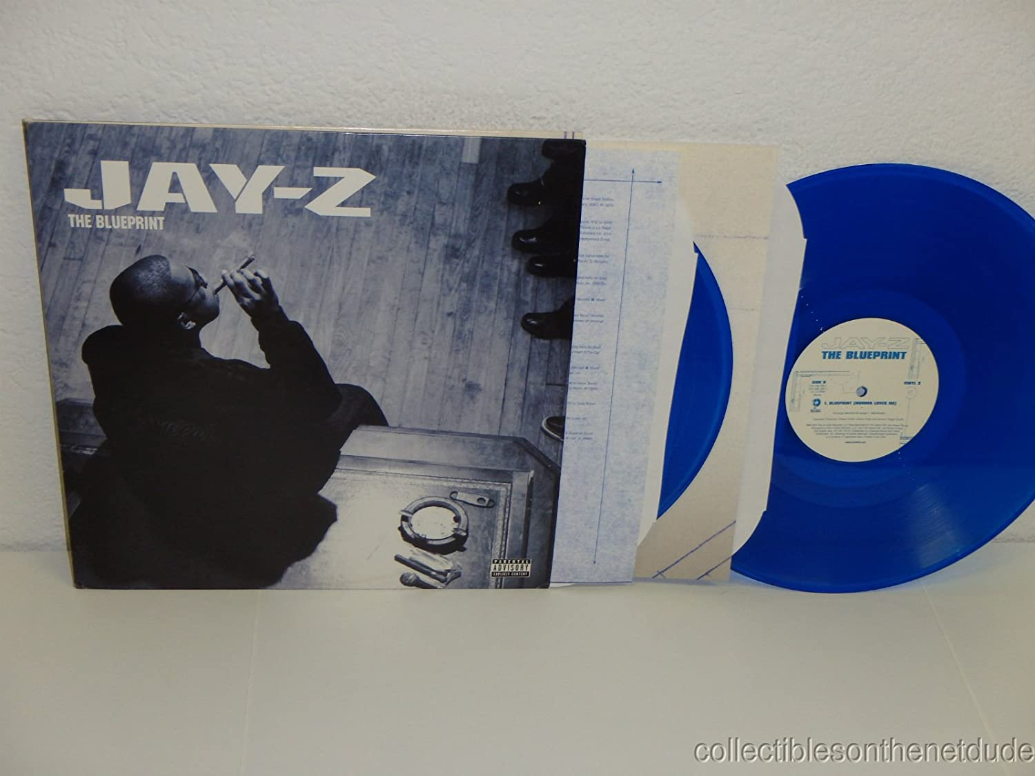 Jay z the blueprint blue vinyl amazon music malvernweather Image collections