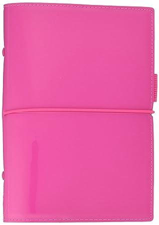 Filofax Personal Domino Patent Organiser - Hot Pink