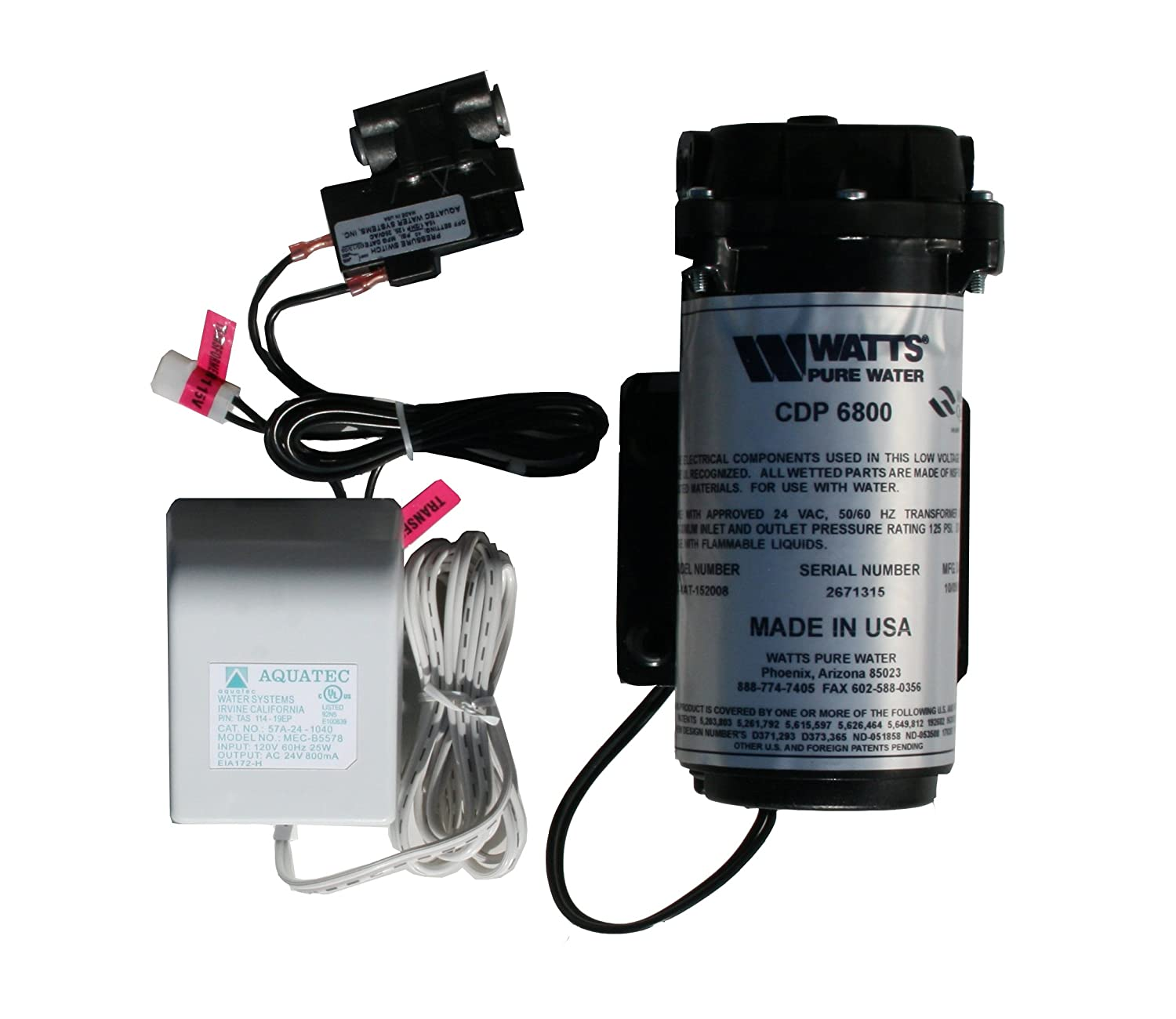 Watts Premier 560043 RO Booster Pump Kit Reviews