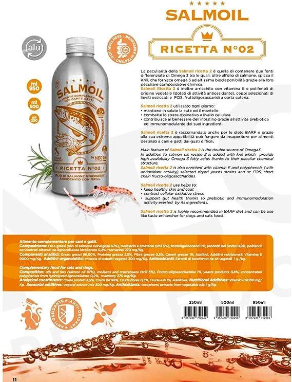 SALMOIL by NECON Pet Food Receta 2, alimento complementario ...