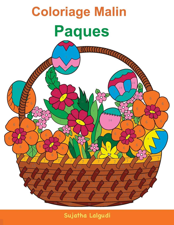 Coloriage Paques Magique.Coloriage Malin Paques Enfant Coloriage Nombres Magiques