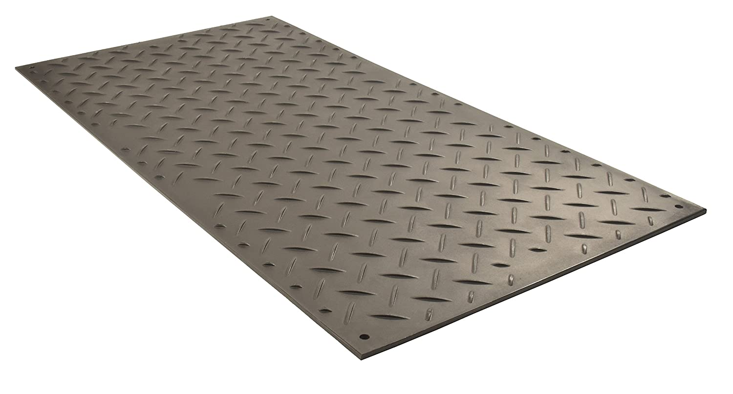 Checkers Industrial Safety Products ブラック AlturnaMAT 地面保護 8' X 4' AM48 1  B01M0GQCDX