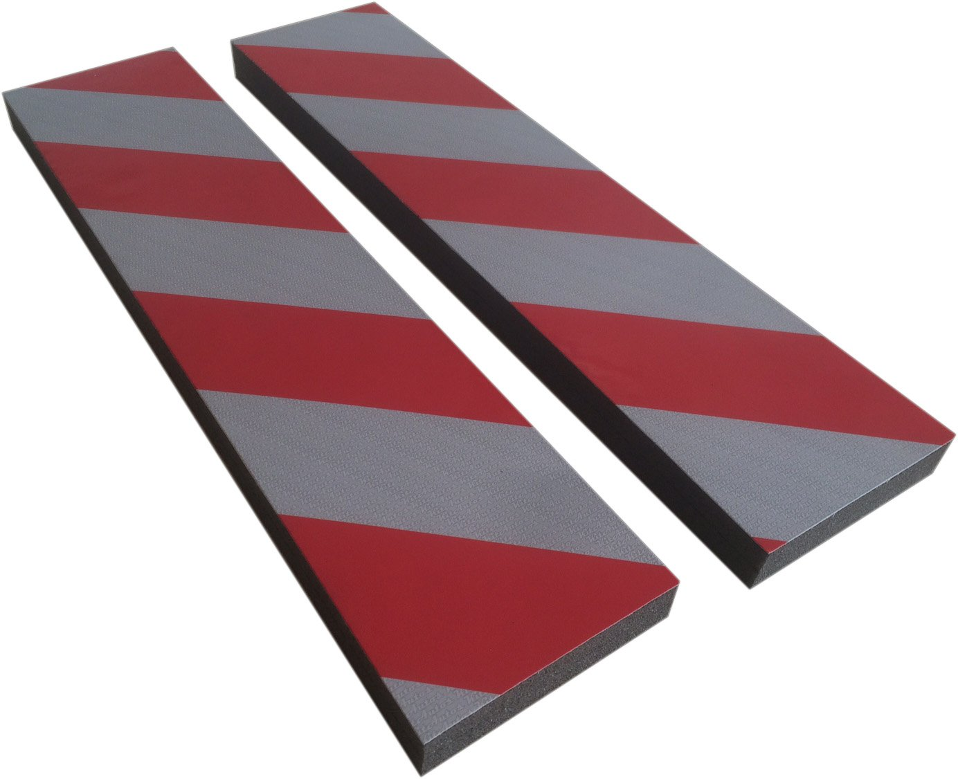confezione da 2 PP409R,9 x 40 cm Protettori per parcheggio KITAUTOS mod spessore 2 cm