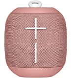 Ultimate Ears WONDERBOOM Bluetooth Speaker Waterproof with Double-Up Connection - Cashmere Pink