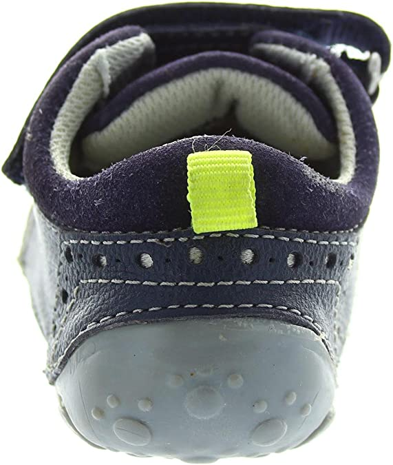 Hush Puppies Boys Blue Leather First Shoes Various Sizes Arthur