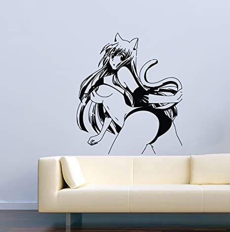 Amazon.com: Anime calcomanía de pared dibujos animados manga ...