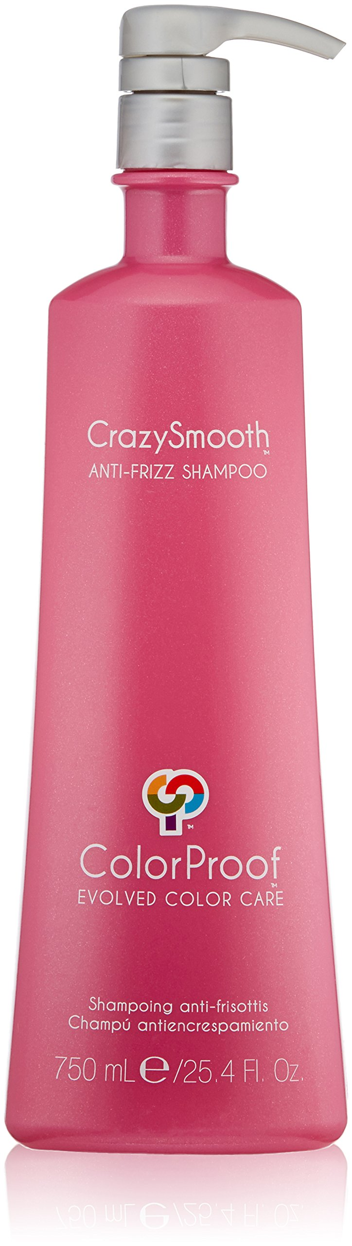 ColorProof Evolved Color Care Crazysmooth Anti-Frizz Shampoo, 25.4 Fl Oz