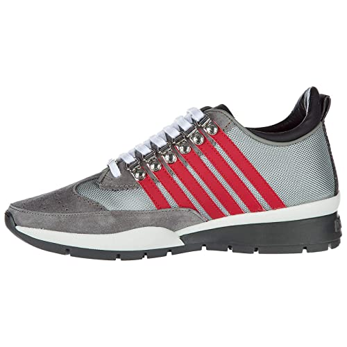 Dsquared2 Zapatos Zapatillas Ante de Deporte Hombres en Ante Zapatillas Nuevo 251 4dcef4