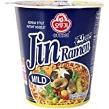 Ottogi Jin Ramen (Mild Taste), 2.29-ounce Packages (Pack of 6)