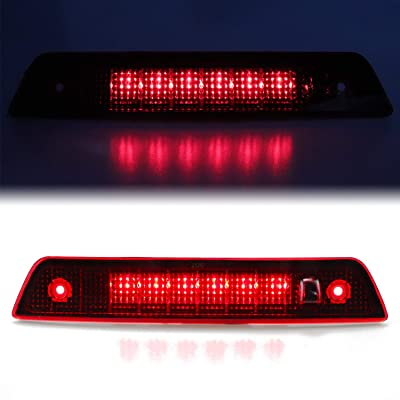 Red Lens Third Brake Light High Mount Stop Light Brake Lamp for 2005-2010 Jeep Grand Cherokee Truck Pickup: Automotive