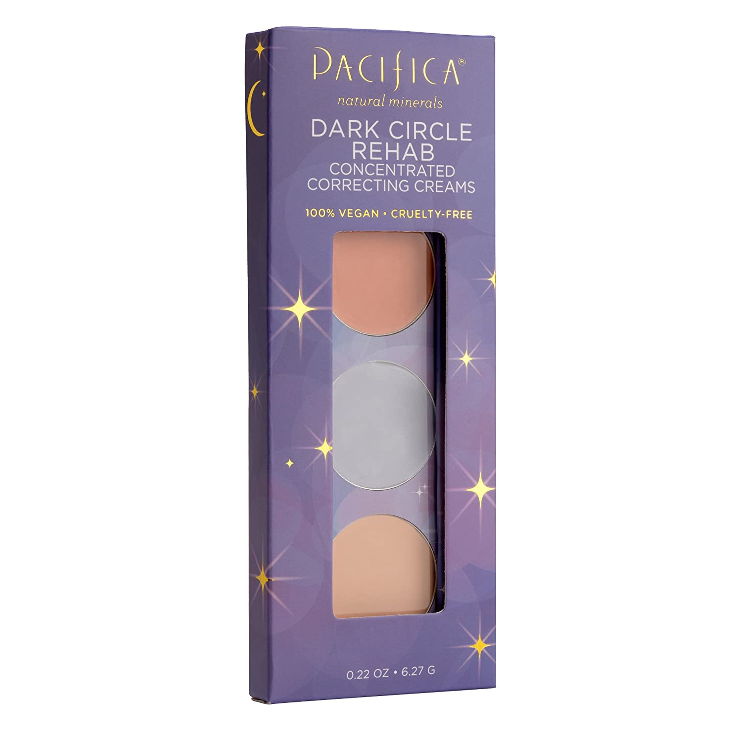 Pacifica Beauty Dark Circle Rehab Concealers, 0.22 Ounce