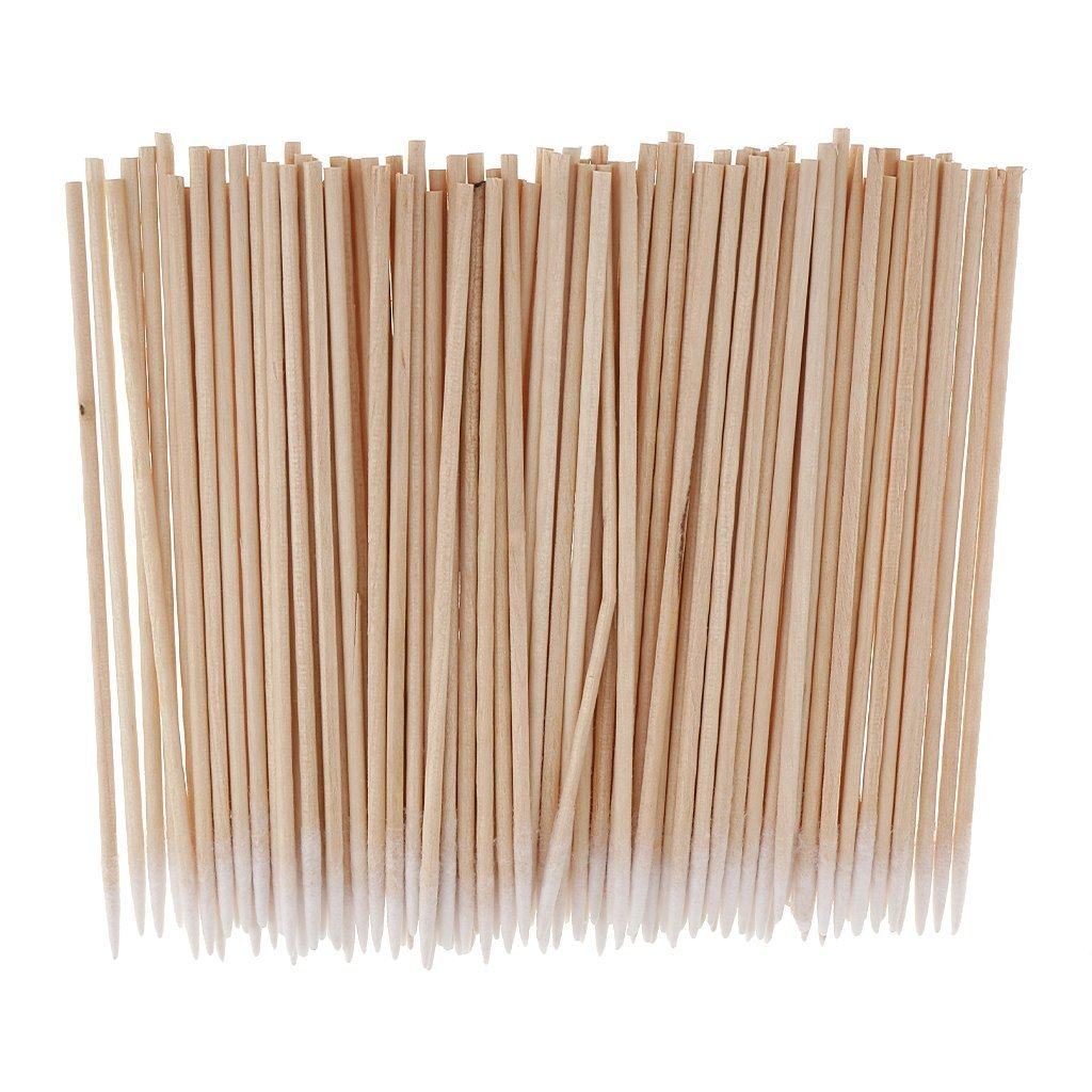 100pcs/set Microblading Tattoo Supply Cotton Swabs Pointed Q-Tips Makeup Cosmetic Applicator 10cm Queta