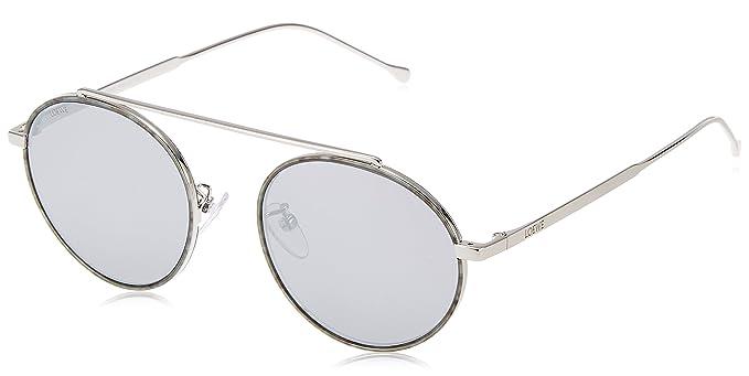 Loewe Damen Sonnenbrille SLW494M51579A, Silber (Shiny Palladium), 51