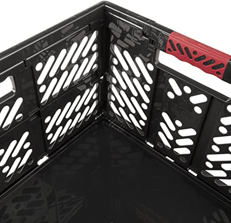 keeeper Ben Robusta Caja Plegable con Asas Suaves, 45 l, Gris Grafito, 54 x 37 x 28 cm