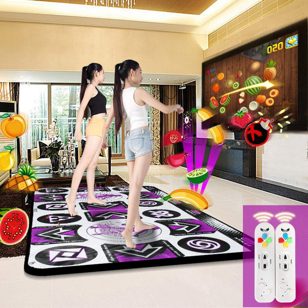 QXMEI Thickened Wireless TV Computer Dual-use Somatosensory Game Dance Mat Double Dance Machine 16595CN by QXMEI (Image #2)