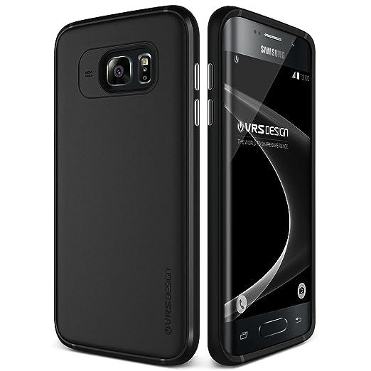 3 opinioni per Cover Galaxy S7 Edge, VRS Design® Custodia [Nero] Ultra-Sottili Copertura Non