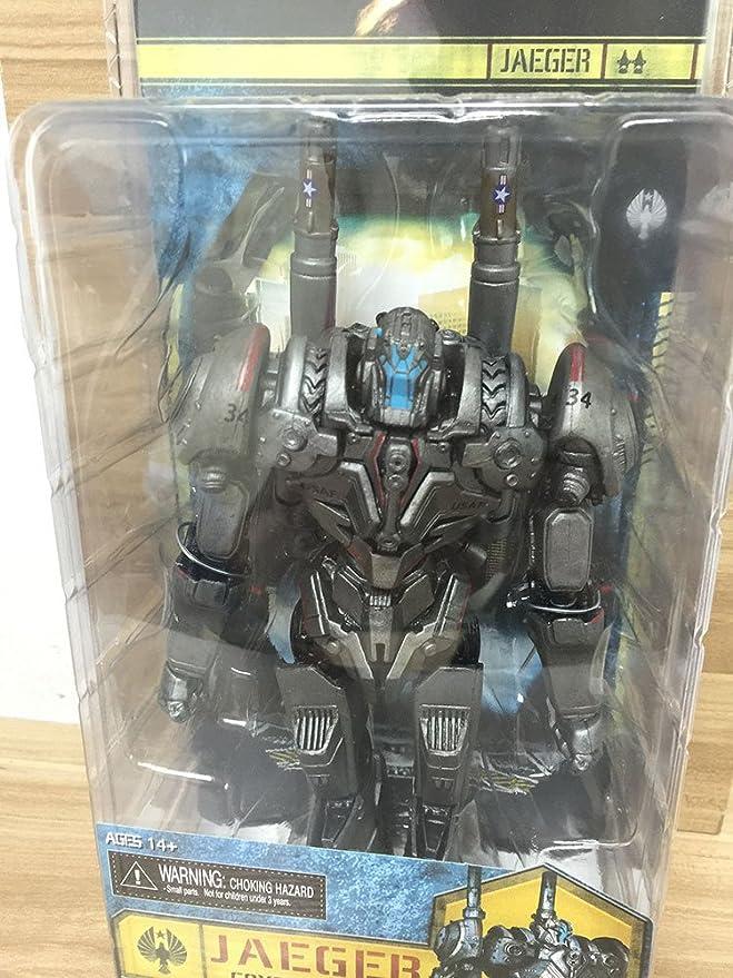 Amazon.com: NECA Pacific Rim Jaeger Gipsy Danger / ROMEO BLUE / Tacit Ronin / Horizon Brave / Coyote Tango PVC Action Figure Toy (9): Toys & Games