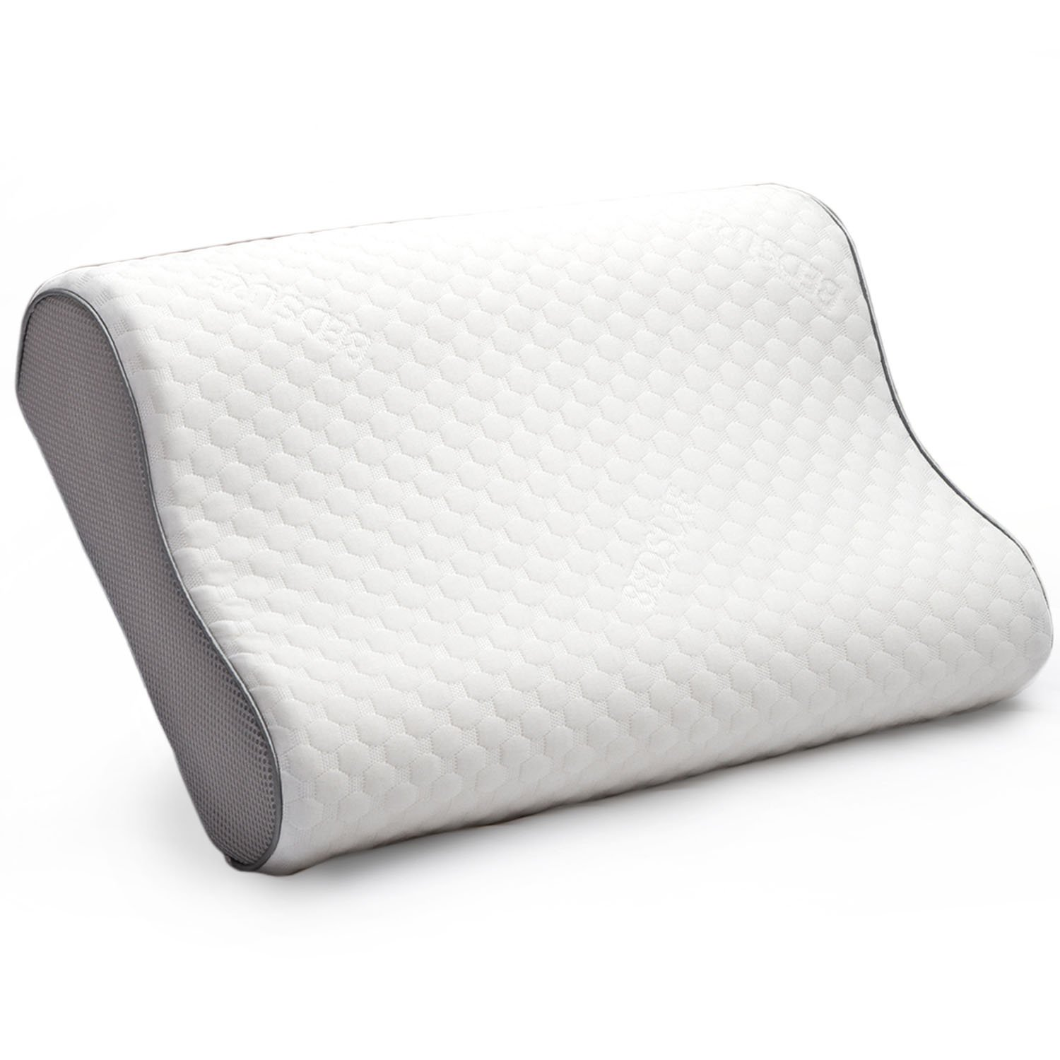 Bedsure Memory Foam Pillow Contour Pillow for side sleepers Neck Support Chiropractor sleeping Bed Pillow