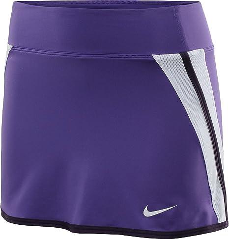 Nike Golf Dri-Fit para mujer falda de tenis (púrpura, XL): Amazon ...