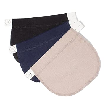 690552790efca Amazon.com : Pregnancy Waistband Extender, Adjustable Elastic, The Maternity  Solution, Special for Pregnant Women/ Expectant Mothers : Baby