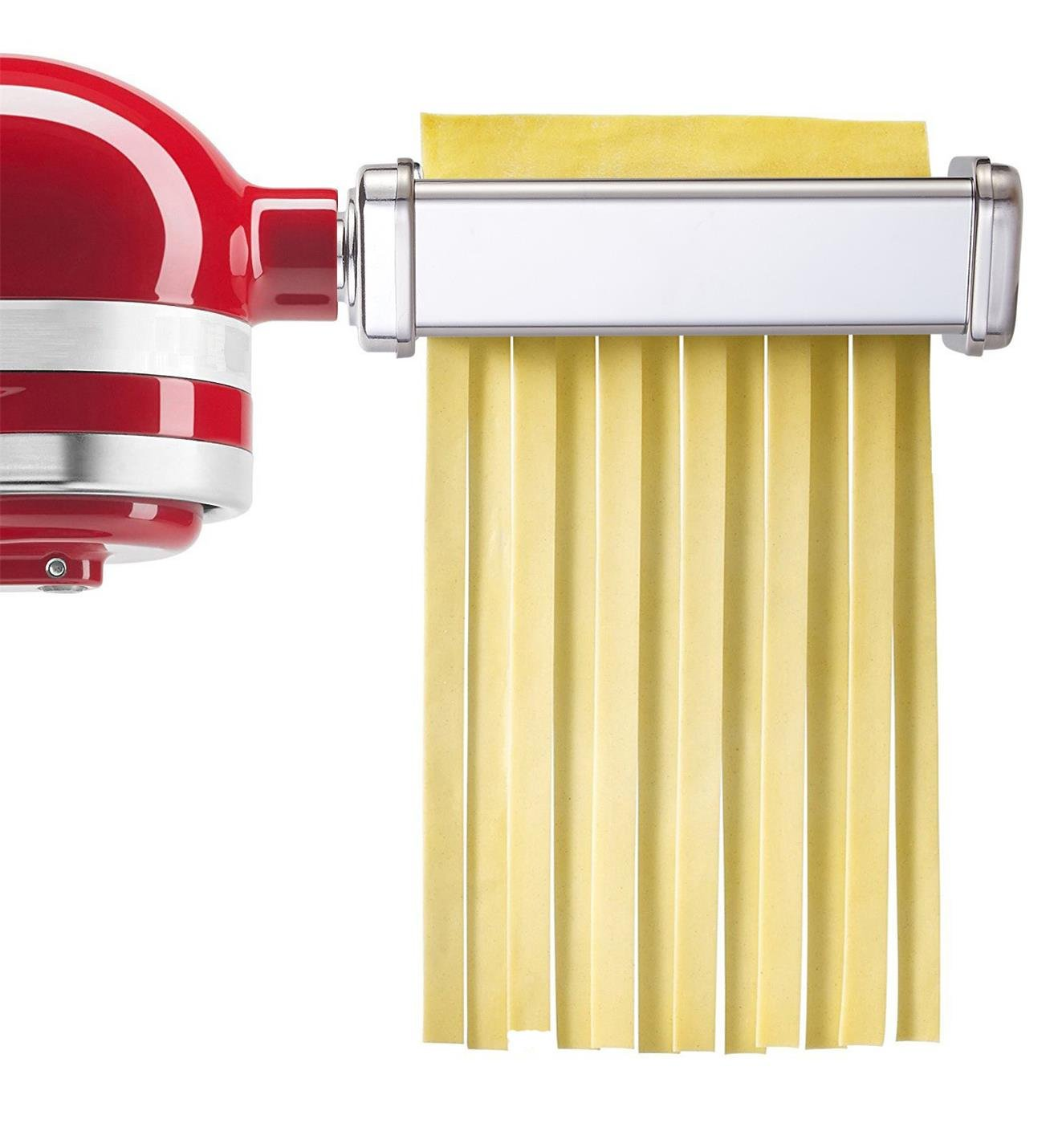 GVODE 3-Piece Pasta Roller and Cutter Set for KitchenAid Stand Mixers,Stainless Steel by GVODE (Image #5)