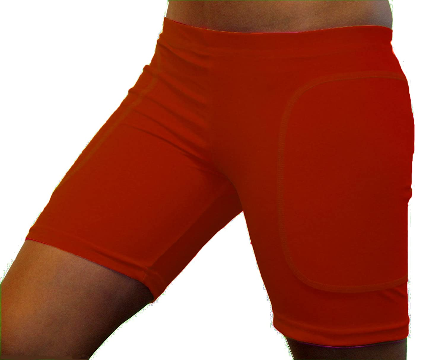 Enhanced Solid Colored Softball Sliding Shorts