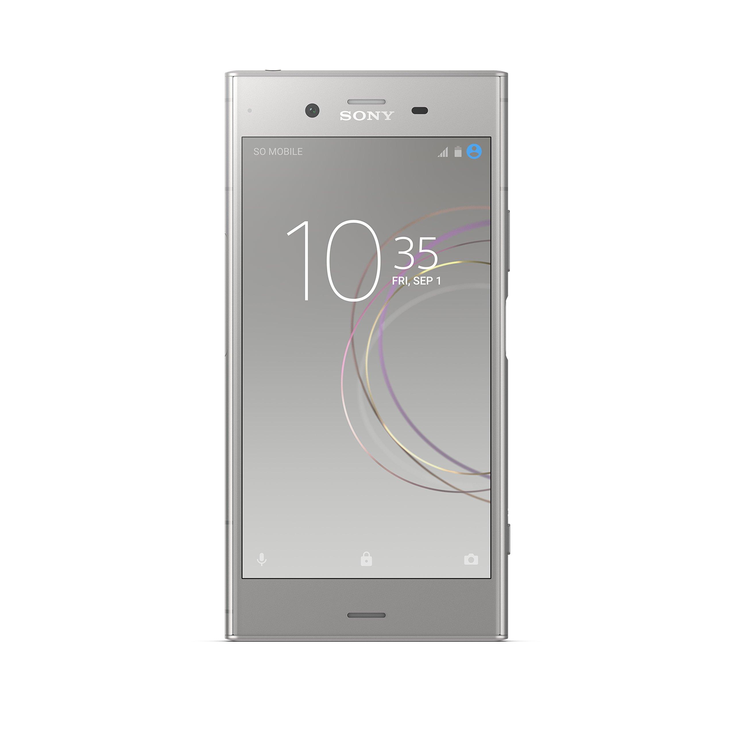 "Sony Xperia XZ1 Factory Unlocked Phone - 5.2"" Full HD HDR Display - 64GB - Warm Silver (U.S. Warranty)"