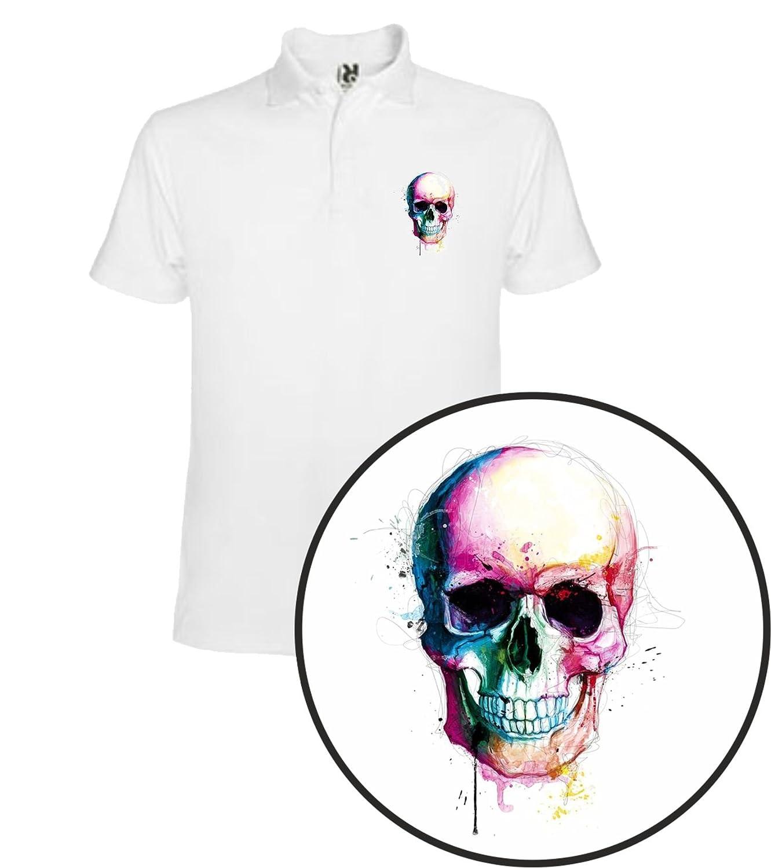 The Fan Tee Polo de Hombre Skull Calavera: Amazon.es: Ropa y ...