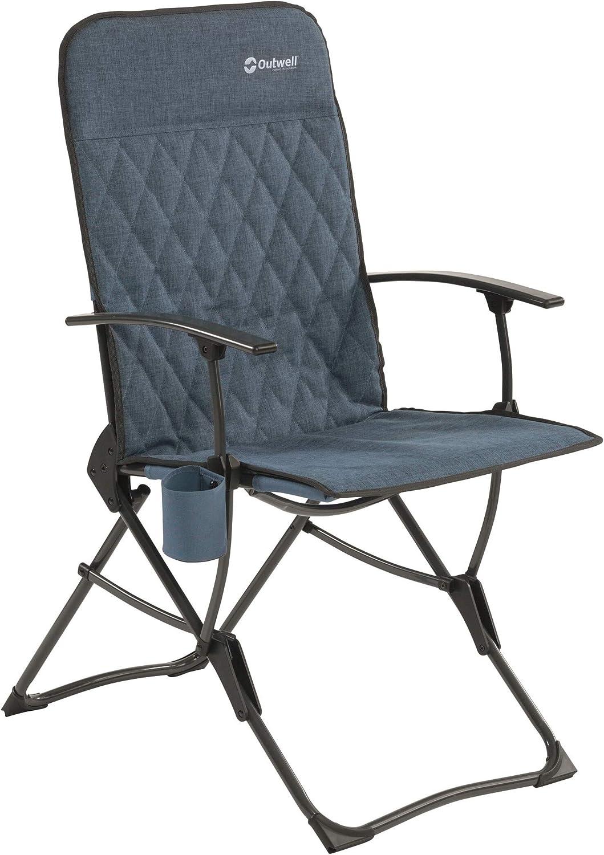 Outwell Draycote - Silla plegable (2020), color azul