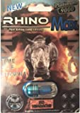 Rhino Max, Male Sexual Enhancement Pills 20 Count