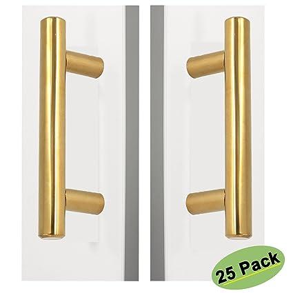 Kitchen Cabinet Door Handles Stainless Steel Drawer Pulls - Homdiy ...