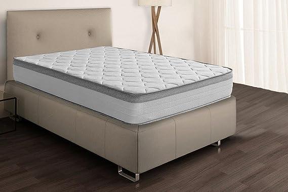 Sleepens Colchón de HR Espumación de alta densidad, alto - 26 cm, cama de 135 cm: Amazon.es: Hogar