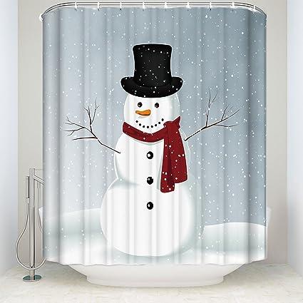 Amazon BMALL Winter Holiday Merry Christmas Happy Snowman
