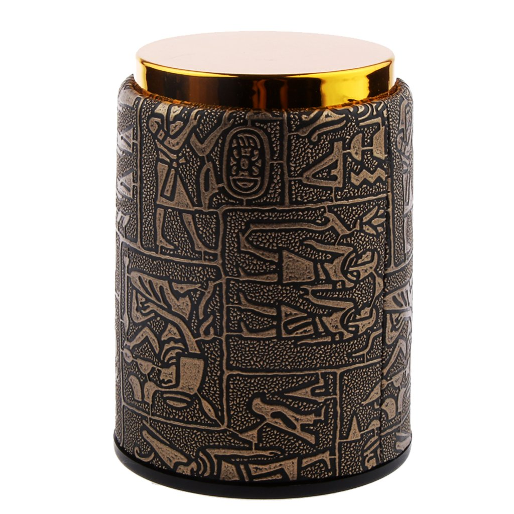 MagiDeal Fashion Dice Cup Shaker KTV Bar Pub Dice Games Casino Game Decider Party Supplies - #10, 10.5 x 7.8cm