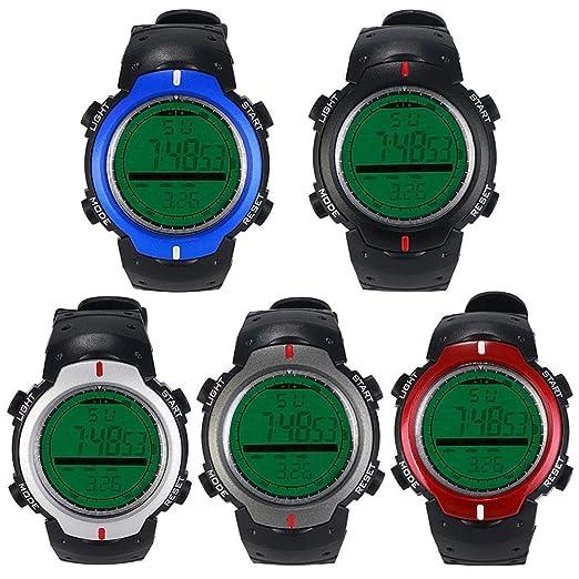 Ecotrumpuk Deportes relojes inteligentes a prueba de agua Digital LED relojes de pulsera electrónicos: Amazon.es: Relojes