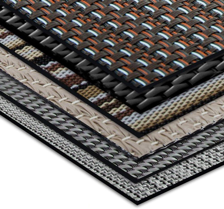 Aluminium Inoxydable antipoussi/ère casa pura Tapis Brosse int/érieur ext/érieur Marron Nylon antisalissure 40x60cm Coloris et Tailles au Choix