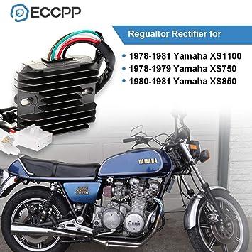 1980 Yamaha Xs850 Rectifier Wiring Diagram 5 pin cdi wiring ... on