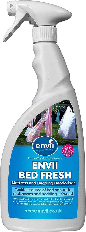 Envii Bed Fresh - Desodorante para Colchón y Ropa de Cama, Limpiador y Neutralizador de Olores en Spray (750ml): Amazon.es: Hogar
