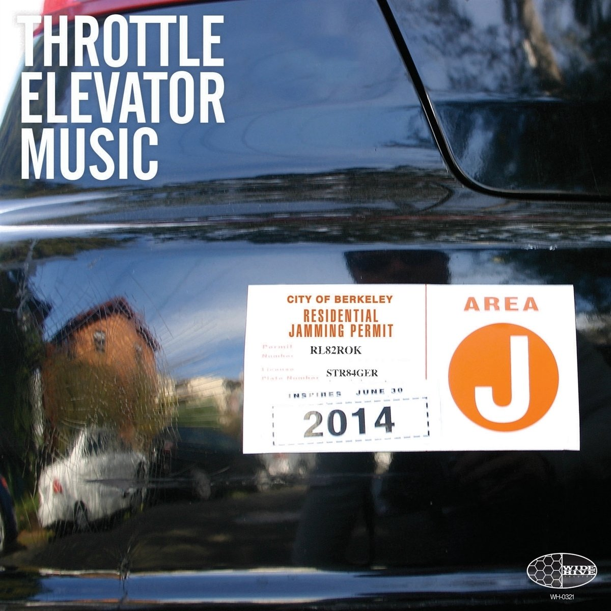 Throttle Elevator Music - Area J (LP Vinyl)