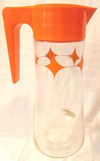 Amazon.com: Jarra de cristal de 1 cuarto de galón con tapa ...