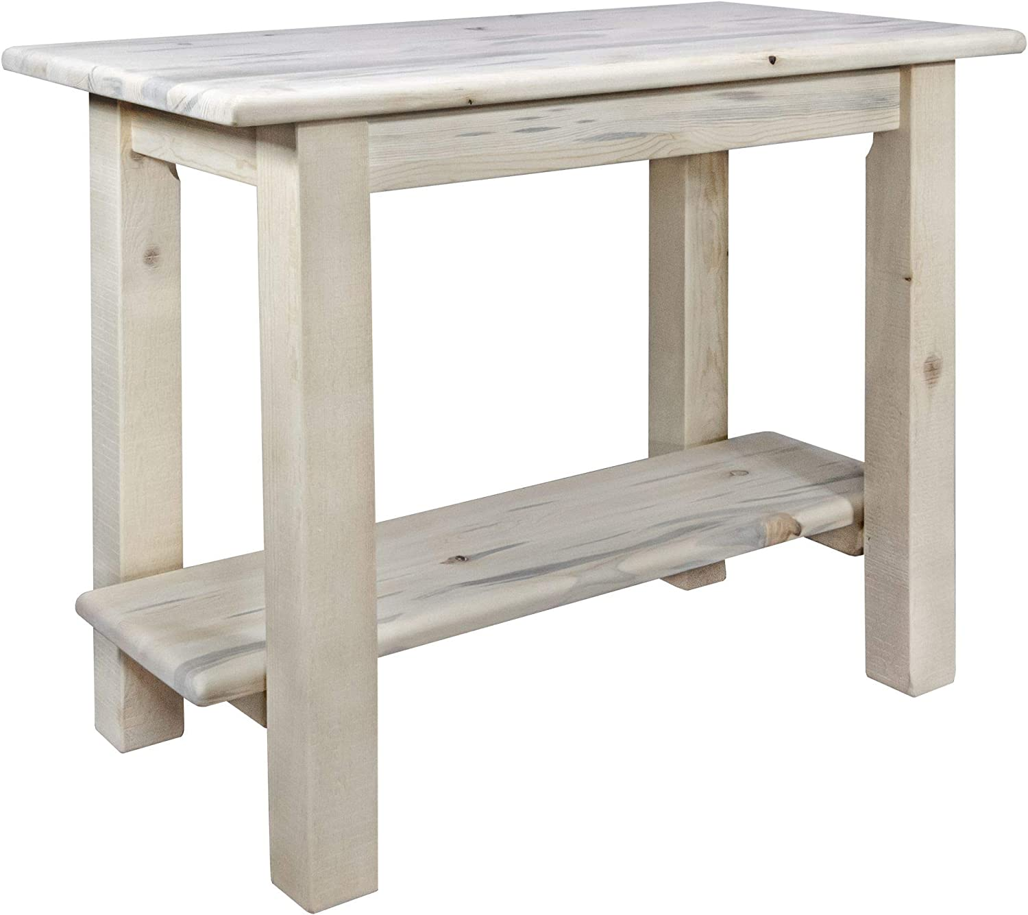 Amazon Com Montana Woodworks Homestead Collection Console Table With Shelf Ready To Finish Furniture Decor