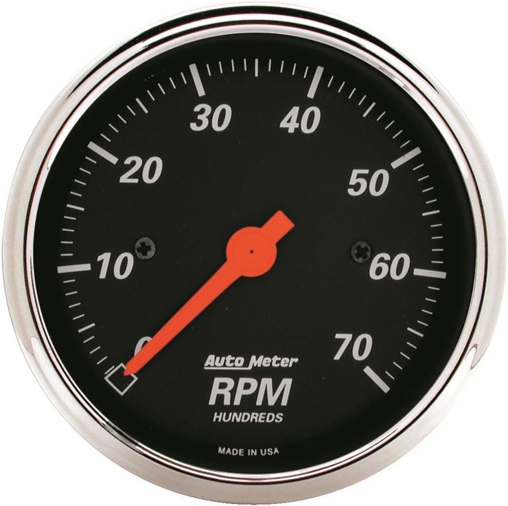 AUTO METER 1478 Designer Black Dash Electric Tachometer