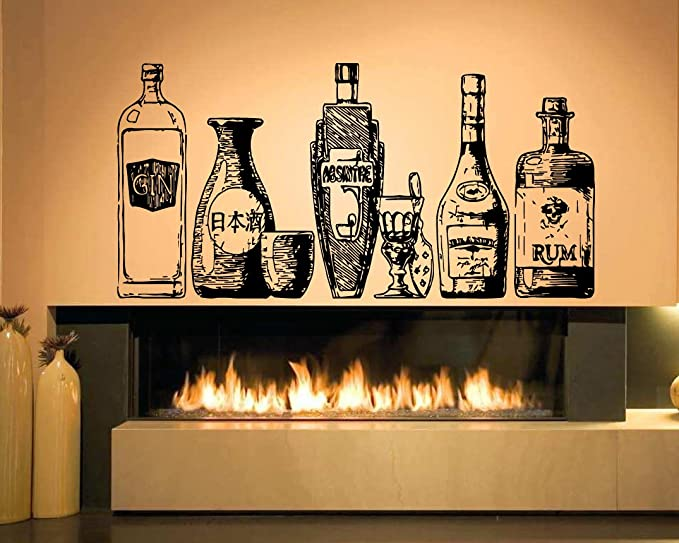 Alcohol Great Story wall decal