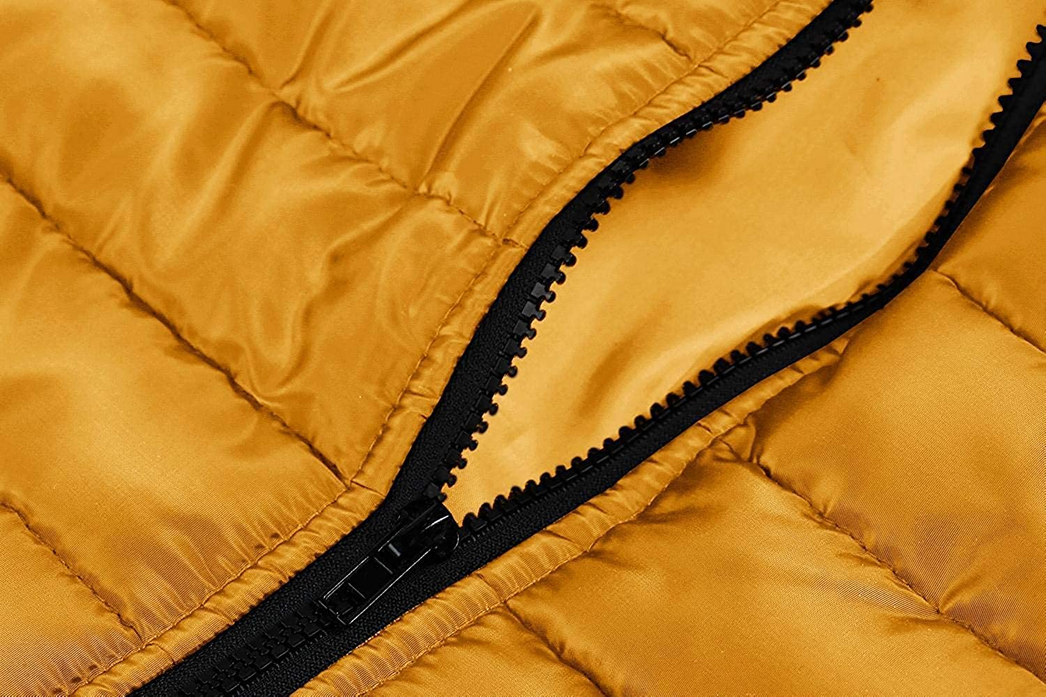 PASLTER Mens Puffer Vest Jacket Quilted Removable Hooded Sleeveless Zip Up Coats Winter Warm Gilet Vests with Pocket