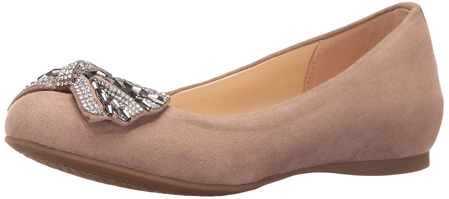 Jessica Simpson Women's Movey Ballet Flat B01EVICBFS 6 B(M) US|Warm Taupe