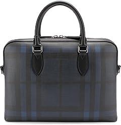 Burberry Burberry THE BARROW Briefcase (Navy/Black) 4006212
